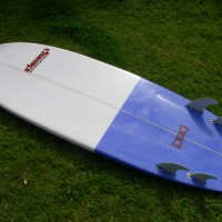 Mini simmons surfboard quad by Deep surfboards